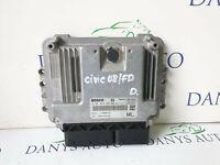 HONDA CIVIC MK8 2005-2011 2.2 ICTDI DIESEL ENGINE CONTROL UNIT ECU