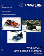 2001 POLARIS SNOWMOBILE TRAIL SPORT SERVICE MANUAL P/N 9916685 (381)