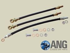 MG MIDGET, AUSTIN HEALEY SPRITE '61-'79 BRAKE HOSES & FITTINGS (CAR SET)
