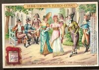 1796 Gardens Of The French Royal Palace NICE c1910 Trade Ad Card