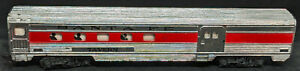 TYCO HO Scale: DINER COACH Santa Fe Lighted TAVERN #238 VINTAGE METAL