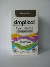 SIMPLICOL expert Textilfarbe - 18 Farben zur Auswahl - mit/ohne Fixierer