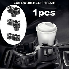 Black Universal Car Accessories Interior Center Console Cup Holder Adjustable