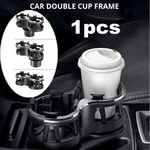 Black Universal Car Accessories Interior Center Console Cup Holder Adjustable