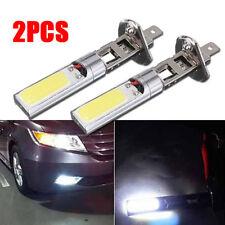 2X Car H1 COB LED High Power Anti-fog Lamp Daytime Running Headlight Light Bulbs