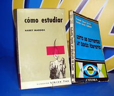 Libro COMO ESTUDIAR y COMO SE COMENTA UN TEXTO LITERARIO
