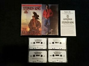 STEPHEN KING READS The Dark Tower THE GUNSLINGER Unabridged Audio Book By Author