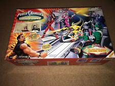 Power Rangers Time Force Control Center Playset New 2001 Ransik Quantum Figures