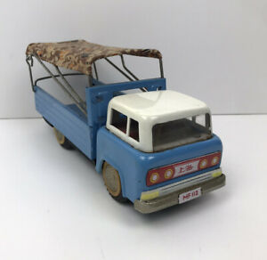 MF-112 Chinese HINO COTTON ROOF OPEN DELIVERY TRUCK TIN PLATE FRICTION LORRY