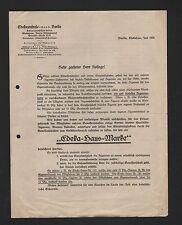 BERLIN, Brief 1928, Edeka-Zentrale eGmbH