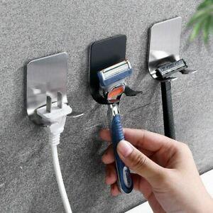 Razor Holder Punch Storage Hook Wall Hooks Bathroom Rack Wall Accessories UK