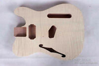 New 1pcs Solid wood DIY electric guitar Body solid wood Unfinished #18