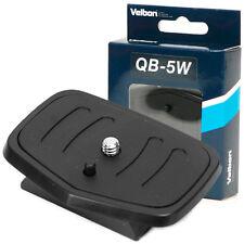 Velbon Quick Release Camera Tripod Ballhead Plate QB-5W for CX-560 660 684 DF-60
