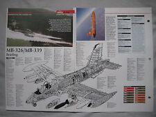 Cutaway Key Drawing of the Aermacchi MB-339