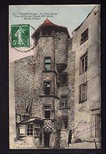 TARARE rhone CPA 69 tour de l'ancien prieuré rue du chateau dans le vieux TARARE