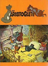 Quaderno Walt Disney:Gli ARISTOGATTI colore arancio
