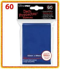 60 Ultra Pro DECK PROTECTOR Card Sleeves Blue Yu-Gi-Oh Vanguard Card Protectors