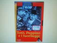 VHS=Totò, Peppino e i fuorilegge (1956)  =IL GRANDE CINEMA DI TOTO'=FABBRI VIDEO
