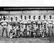 1939 EAST WEST NEGRO LEAGUE ALL STARS 8x10 PHOTO