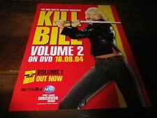UMA THURMAN - Publicité de journal / Advert !!! KILL BILL VOL 2 !!