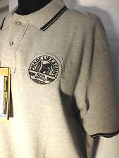 POLO ROYAL ENFIELD gris Emblème Taille M