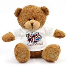 The Worlds Best Careers Adviser Teddy Bear