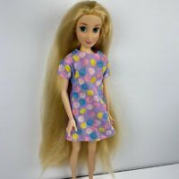 Authentic Disney Store Rapunzel Princess Doll Tangled Long Hair