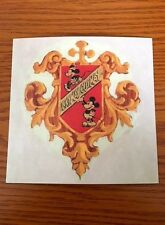 "Disney D23 Hyperion Studio ""Ickymay Ousmay"" Crest (ca. 1933) Print Exclusive"
