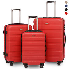 BAHOM 3 Pcs Luggage Sets with Spinner Wheels, TSA Suitcase Set,20/24/28 inch