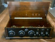 Mid 1920's NAMELESS Radio Made By Rossiter-Manning Beautiful Working Condition!