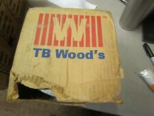 "NEW TB WOODS 3"" Adaptor Bore V-BELT 6 GROOVE SHEAVE 7-3/8"" OD X 4-3/4"" Wide"