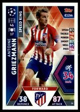Match Attax Champions League 2018/19 Griezmann Athletico Madrid Speed King No.34