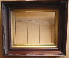 ANTIQUE FRAME Fine GOLD CARVED 19th CENTURY OLD FRAMING, VICTORIAN Walnut Wood