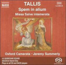 Tallis: Spem in alium; Missa Salve intemerata [Hybrid SACD], , New Hybrid SACD