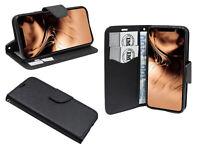Zubehör für iPhone 11 Book-Style Tasche Cover wie ein Buch in Schwarz
