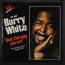 BARRY WHITE: Just The Way You Are / Your Sweetness Is My Weakness 12 (UK, white