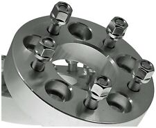 1 JEEP Wrangler 5x4.50 WHEEL SPACER ADAPTER 1.25 Inch With Lugs # 5450B1/2