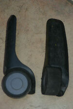 Replacement SAMSONITE soft shell suitcase wheel & fairing assembly, L & R