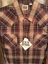 Ely Cattleman Men's Western Shirt Long Sleeve snaps