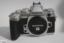 Olympus Digitalkamera Systemkamera OM-D E-M1 chrom body (unter 4000 Auslösungen)