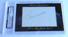 Paul Molitor 2012 Historic Autograph Why the Hall Not? PSA/DNA Brewers Twins /10