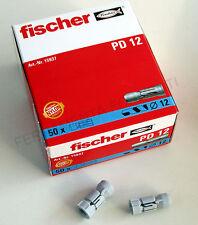 tasselli nylon FISCHER PD 12 per CARTONGESSO - 50 PZ