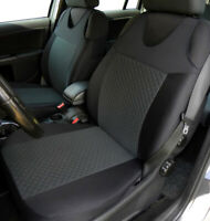 2 Grey Front Vest Car Seat Covers for Peugeot many models