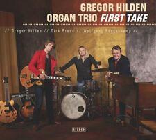 GREGOR ORGAN TRIO HILDEN - FIRST TAKE   CD NEUF