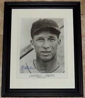 Lefty Grove Signed Autographed Framed 8x10 Baseball Photo JSA Auction House LOA