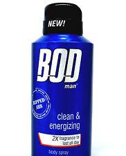 Bod Man Ripped Abs by Parfums De Coeur Deodorant Body Spray 4.0 oz