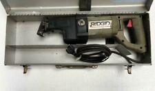 RIDGID 530 UNIVERSAL RECIPROCATING SAW 230V WITH CASE