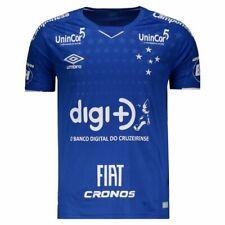 Cruzeiro Home All Sponsors Soccer Football Shirt Jersey - 2019 Umbro Brazil