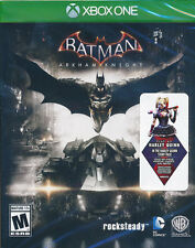 Batman Arkham Knight Xbox One Game (with Harley Quinn DLC) BRAND NEW & SEALED