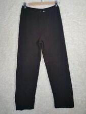 Eileen Fisher Women's Knitted Wool Brown Pants Casual Petite Medium